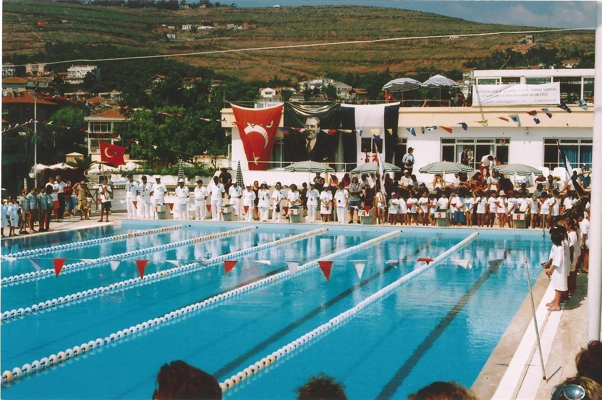 Bir yüzme yarışmasından