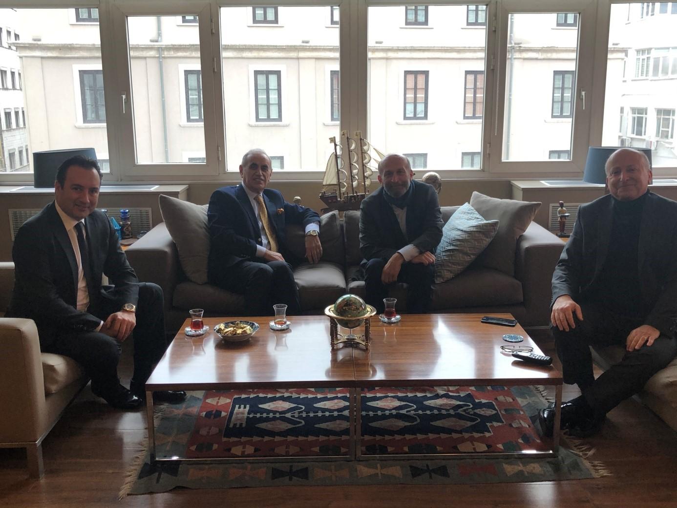 Adalar Belediye Başkanı Sn. Erdem Gül ile görüşmemizden