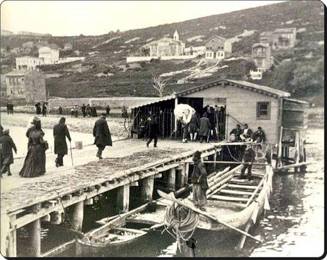 Burgazada iskelesi