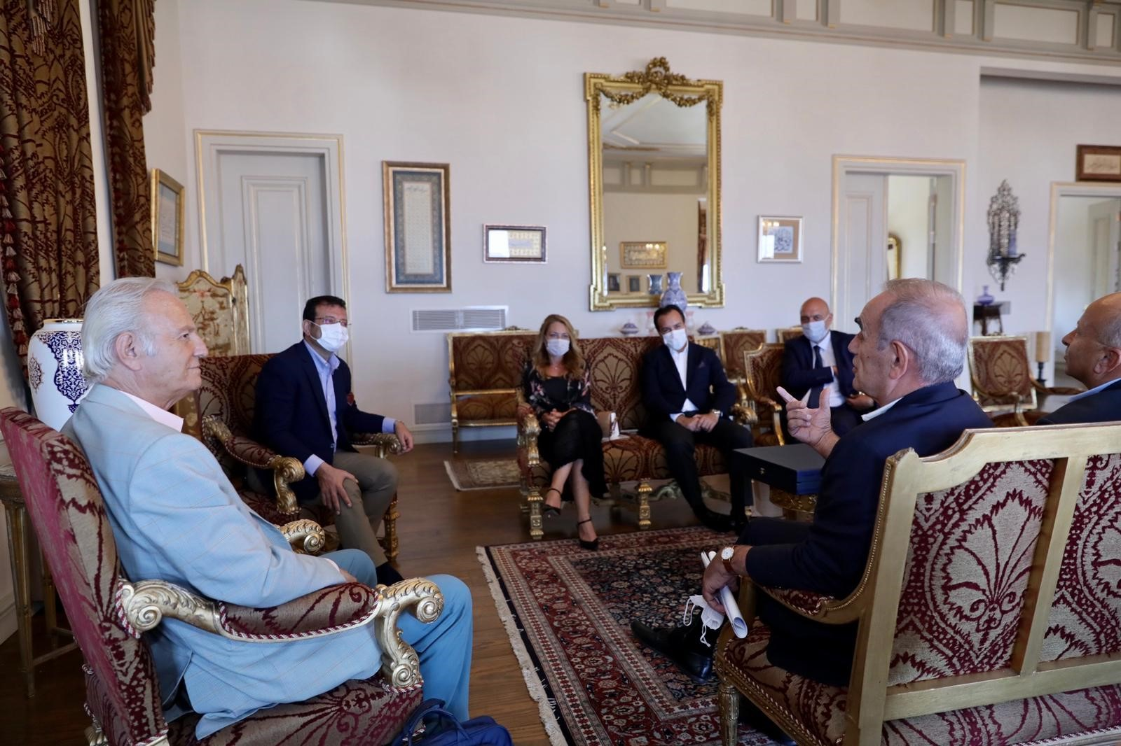 İBB Başkanı Sn. Ekrem İmamoğlu ile görüşmemizden